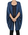 Snuggle cape navy front detail copy