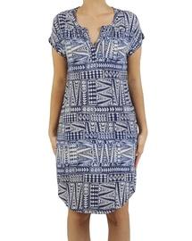 Shoulder Print Dress