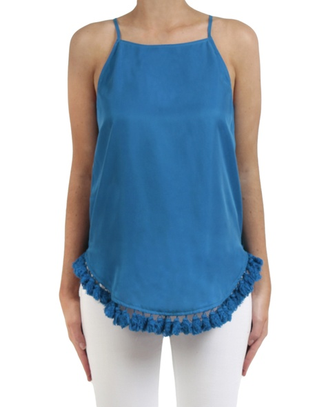 Sundance top Turquoise front copy