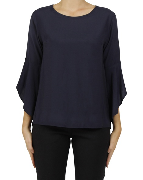 Pippi blouse navy A