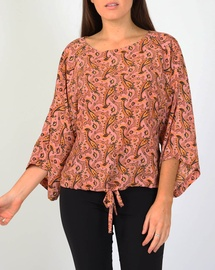Paisley Lotus Top