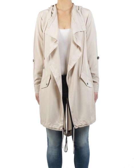 Ollie jacket stone front