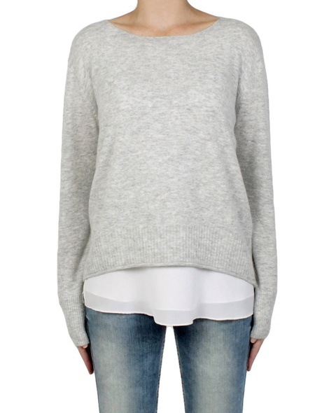 bliss jumper silver front
