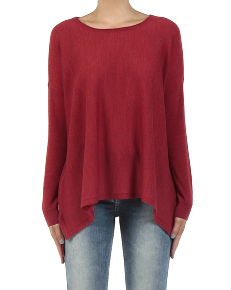 Calasis Merino Jumper red front copy