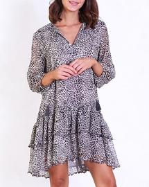 Leopard Angelica Dress