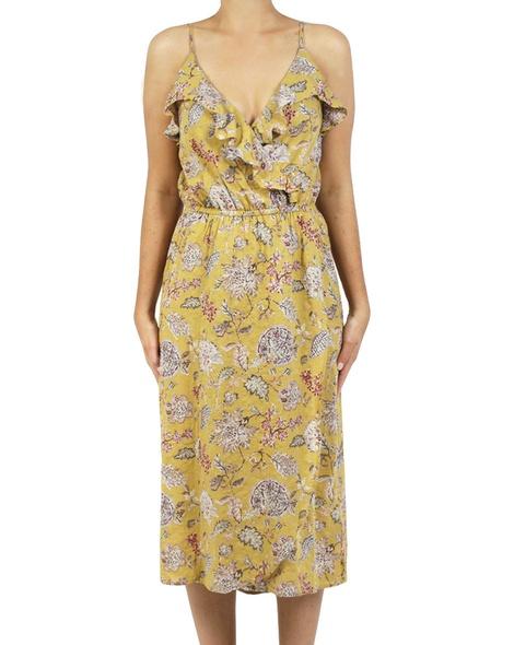 Miami dress mustard A copy
