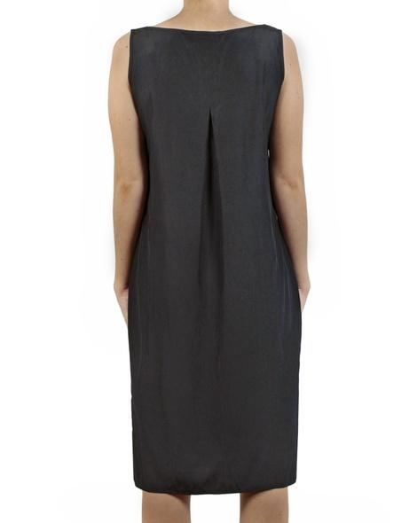 Kendall Dress charcoal back