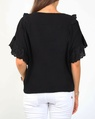 Arabella top blk B new