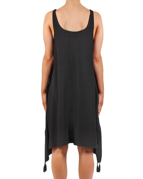Indiana dress black back
