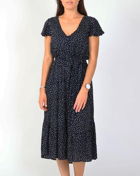Juantia dress navy A