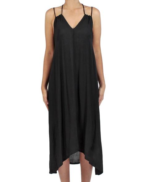Soiree dress black front copy