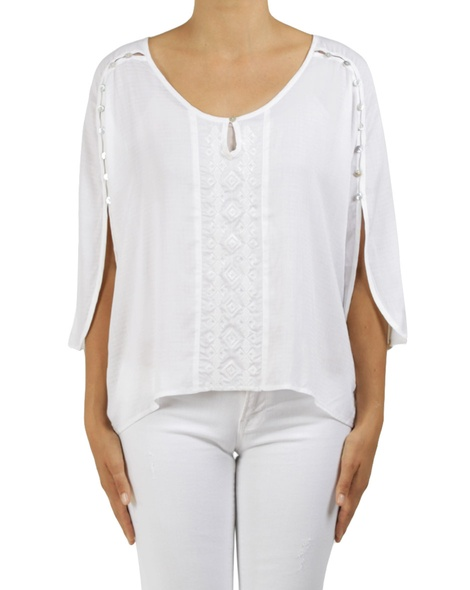 joelle top white A