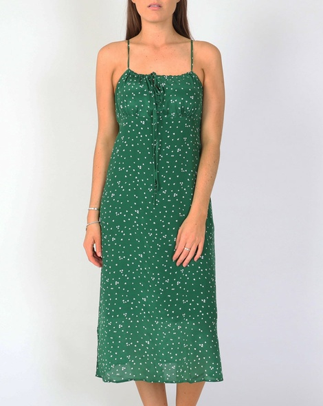 Scarlet dress green A