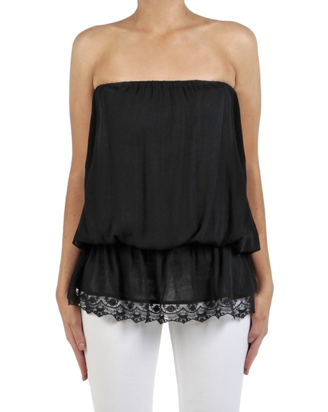 Bijoux top black front long copy