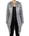 Galaxy puffer jacket grey silver front copy