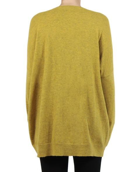 Cara cardigan mustard back copy