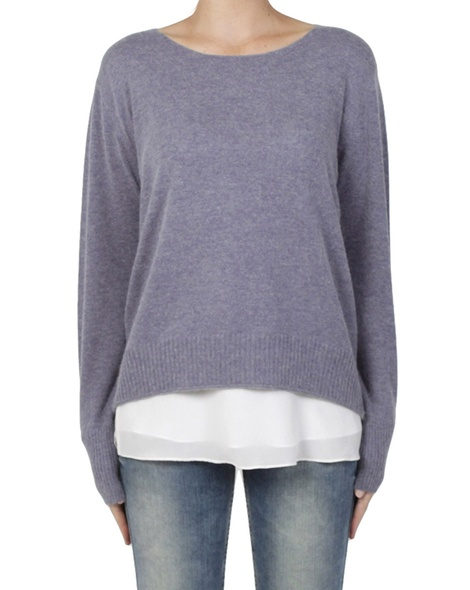 bliss jumper lilac front
