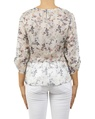 floral cathernine top white B