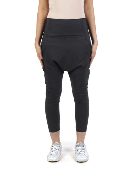 Twill Milano pant black front