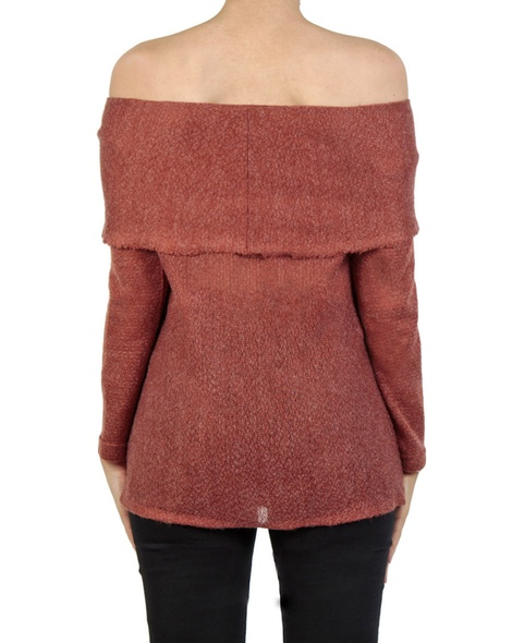 Olivia knit rust back copy