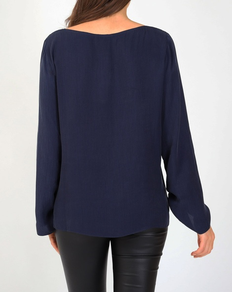 Portia top navy B