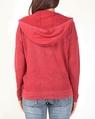 Boyfriend hoodie cardi red B