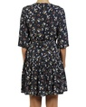 Isabel wrap Dress navy B