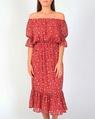 Leah Dress red A