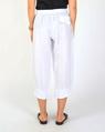 Toledo linen pant white B