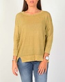 boyfriend sweater mustard A