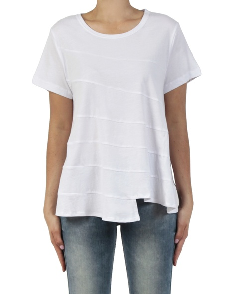 Stirred Tee white front