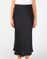 Yelena slip skirt blk A