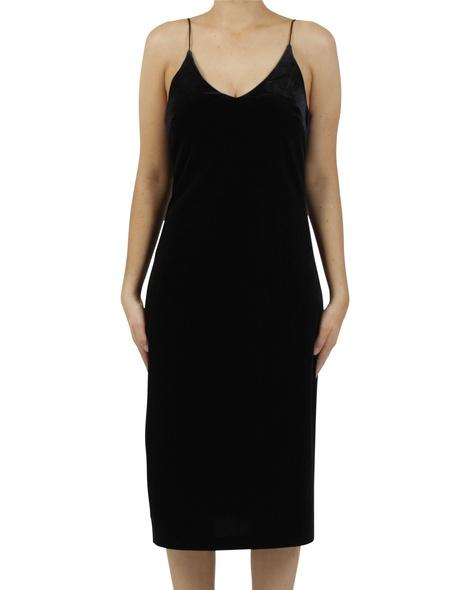 Rae velvet slip dress A