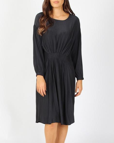 Vivienne dress charcoal A