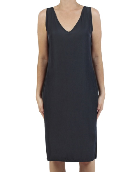Kendall Dress navy front