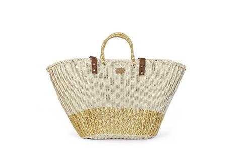 Straw Bag gold A