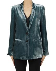 Silk Velvet Blazer