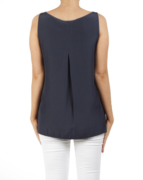 Kendall top navy B