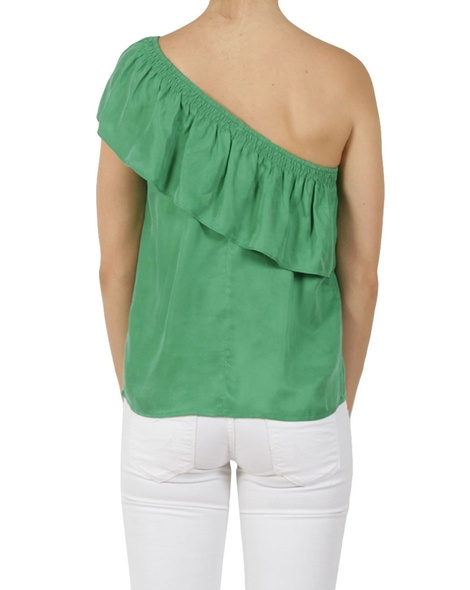La Brea top green B