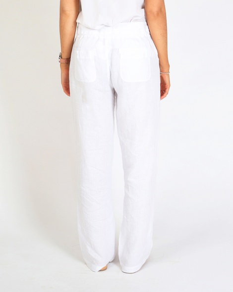 Skylar linen pant white B