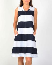 Printed Stripe Dress