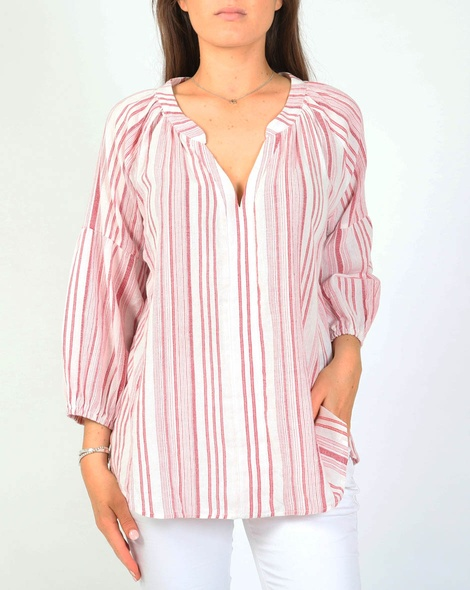 Rosie top red A