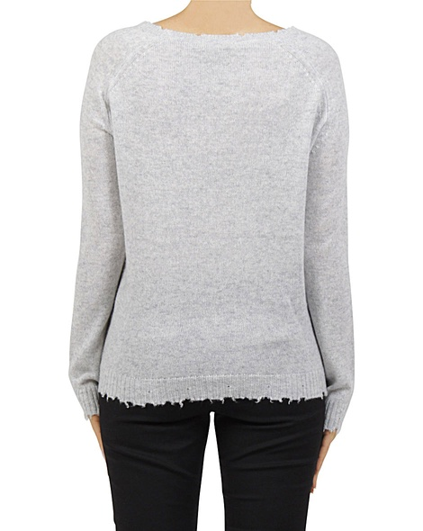 Distresed cashmere sweater B