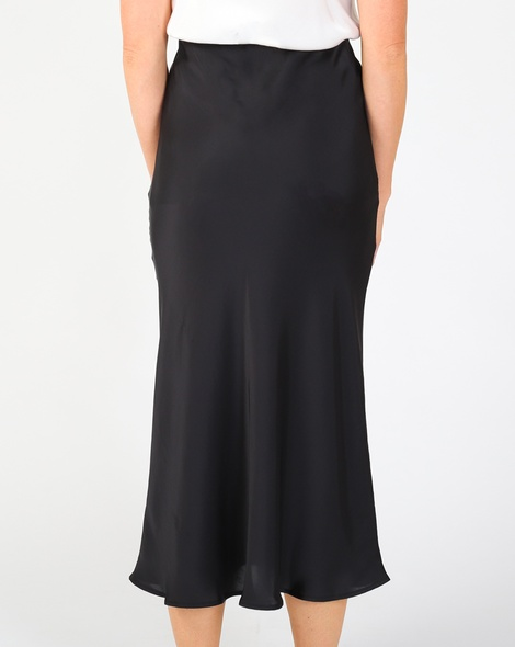Yelena slip skirt blk B