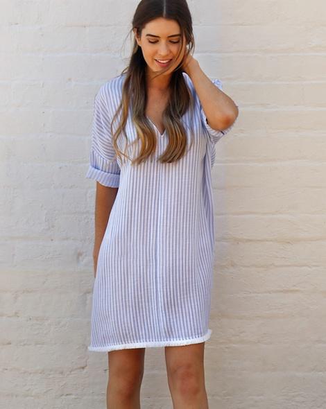 Stripey Bandit dress (not in yet) (21)