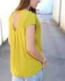 Clara top mustard annika (85)