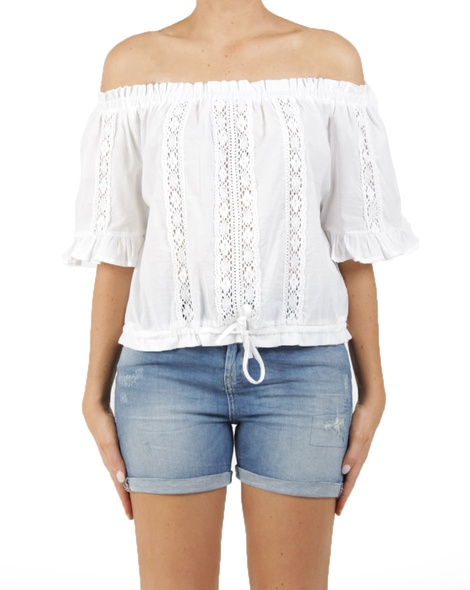 Cindy top white A