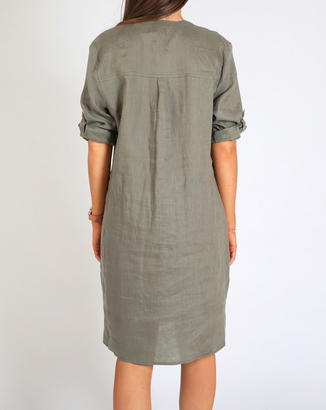 Brielle Dress khaki B
