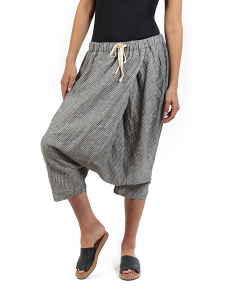 Moroccan pant charcoal pose copy