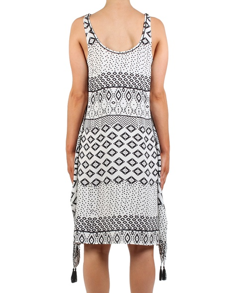 Indiana Print Dress back